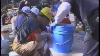 FDNY Searching Buckets of Dust for Human Remains