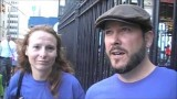Interview with Chad and Chrissie – AE911Truth Street Actions in NYC on 9/11/13