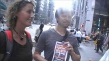 Interview with Engineer – AE911Truth Street Actions in NYC on 9/11/13