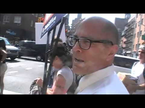 Interview with Richard Gage, AIA – AE911Truth Street Actions in NYC on 9/11/13