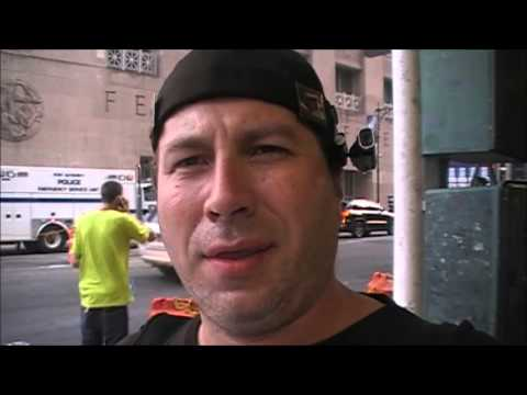 Interview with Steve – AE911Truth Street Actions in NYC on 9/11/13