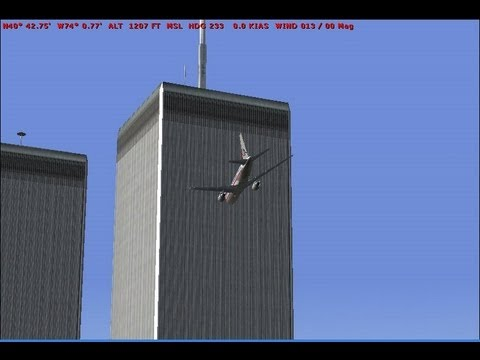 New Video First Plane Hit Tower 9 11 9/11 Terrorist Terror Attack