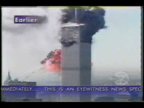 9/11/01 LIVE! News and Amateur Video World Trade Center