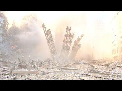 Rare video from ground zero on 9/11