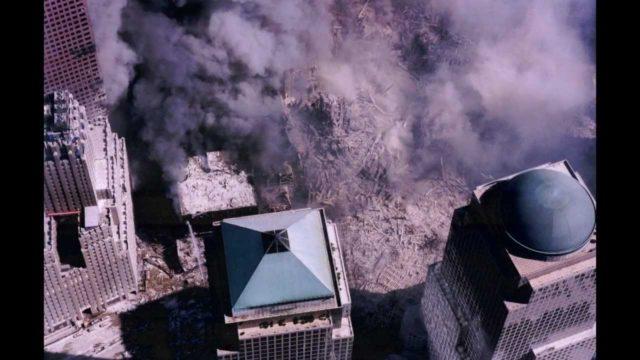Images of Ground Zero on 9/11/2001