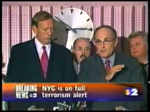 9/11 at 2:45 p.m. WCBS home tape recording