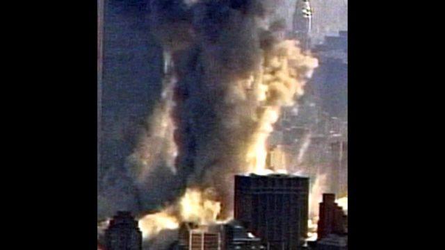 """WTC Tower 2 """"Collapse"""" Chopper2 zoom/levels"""