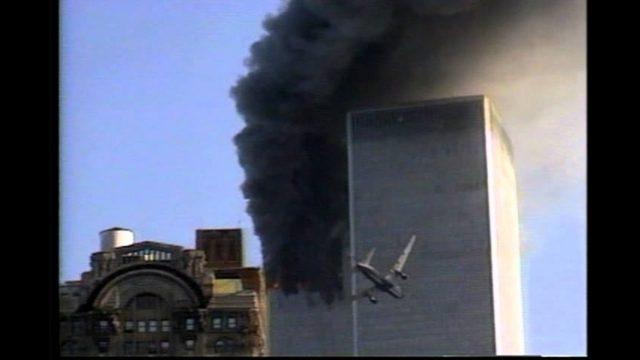 2nd Plane on 9/11 Closeup: Michael H. slow motion HD