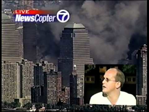 WTC7 South Face Revealed – Helicopter Shot