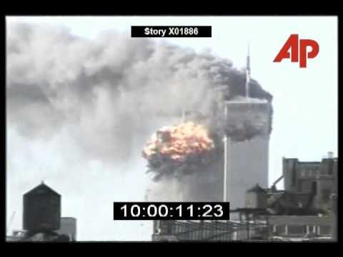 2nd Plane Impact on 9/11 – CBS11 (AP with audio, extended)