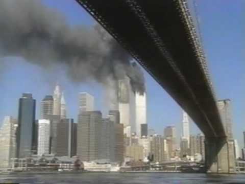 2nd WTC Plane Impact on 9/11 – Brooklyn Bridge w audio US-vs-Moussaoui P200015