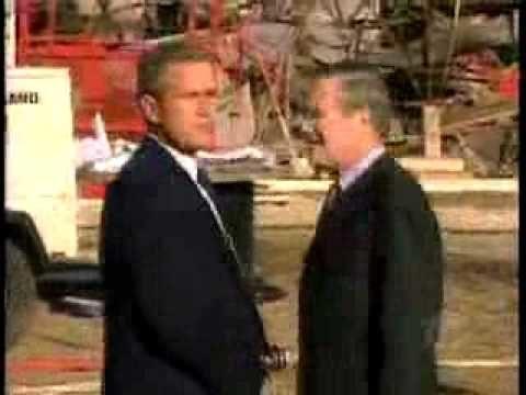 Pentagon Plane Wreckage, Bush Visiting