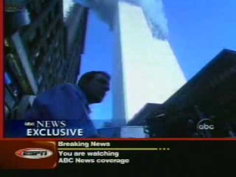 2nd hit E. Fairbanks 1st air w/ WTC2 collapse, interview 5:03 pm