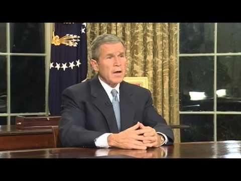 Address to Nation on Terrorist Attacks, 9/11/2001