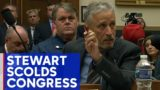 Jon Stewart gets choked up, angry before Congress over 9/11 compensation
