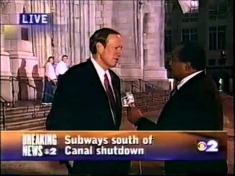 9/11 at 9:22 p.m. WCBS home tape recording