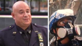 'A minute saved my life': 9/11 officer recounts tragic attacks