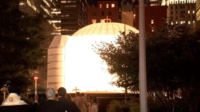 Never Forget: Church destroyed on 9/11 comes together to reflect, embrace rebuilding